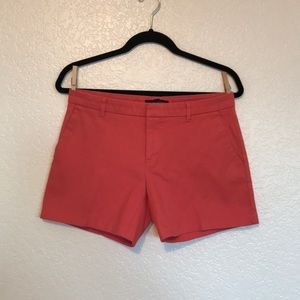 Coral banana republic shorts